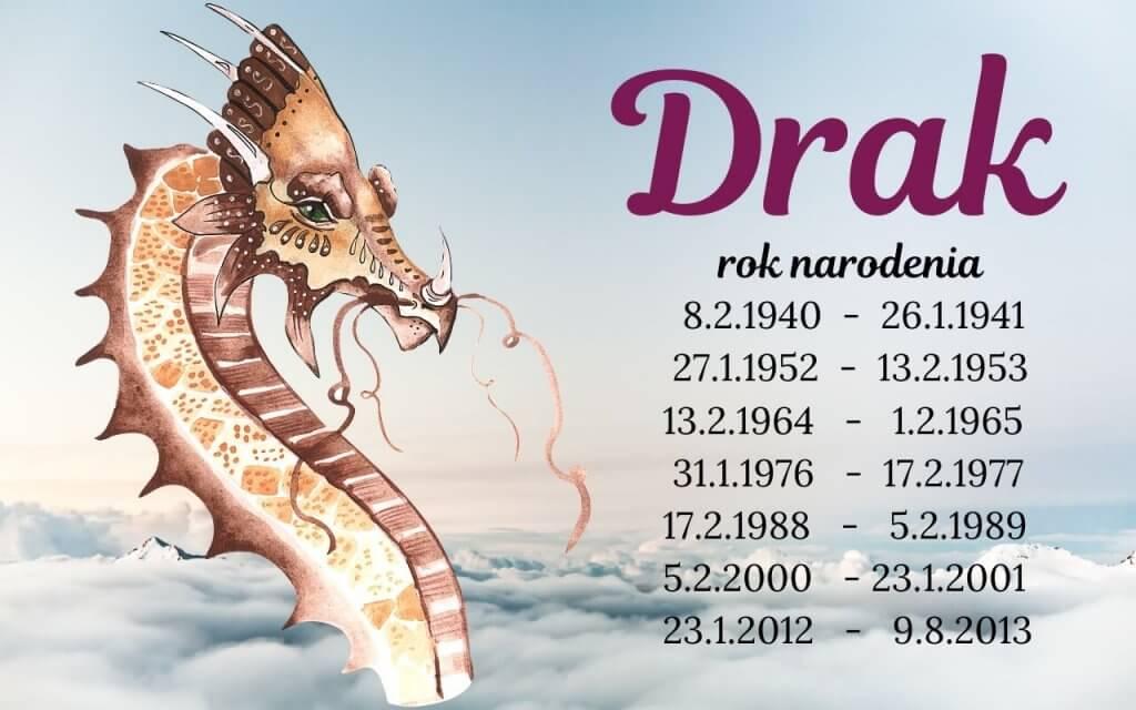 Drak – čínske znamenie